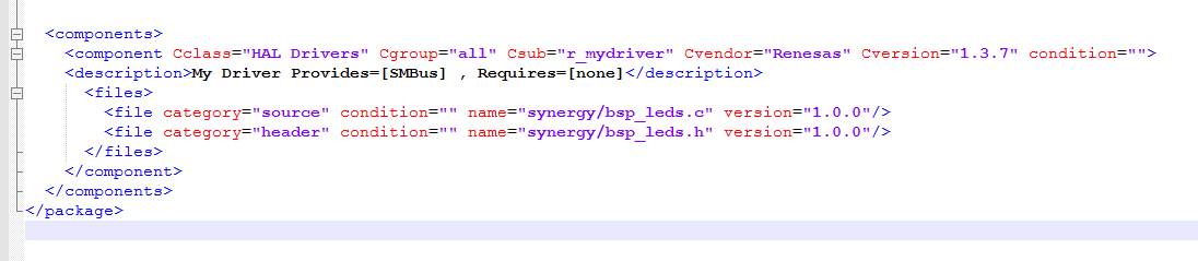 Adding files to your own driver - Synergy - Forum - Renesas